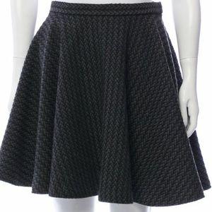 Rachel Comey Tweed Pattern Circle Mini Skirt